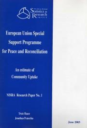 T 2003 Community Uptake Study SSPPR
